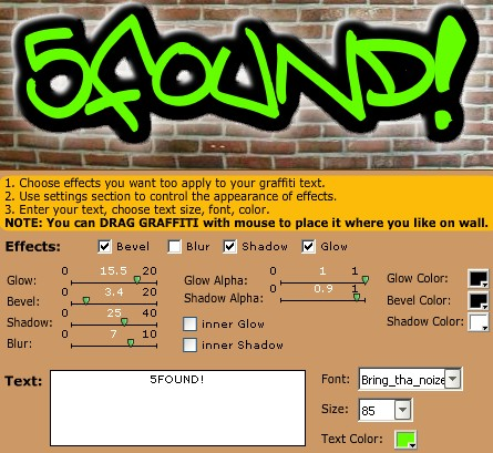 5 Free Graffiti Creators To Make Graffiti Designs Online 5found
