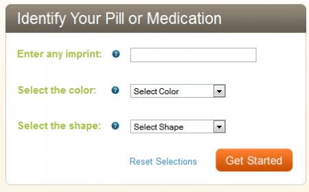 WebMD Pill Identification